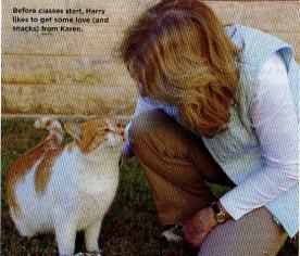 Karen & Harry featured in Cat Fancy, May 2014