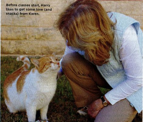 Karen & Harry featured in Cat Fancy, May 2014