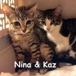 Nina and Kaz